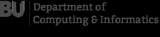 Bournemouth University Department of Computing and Informatics Logo