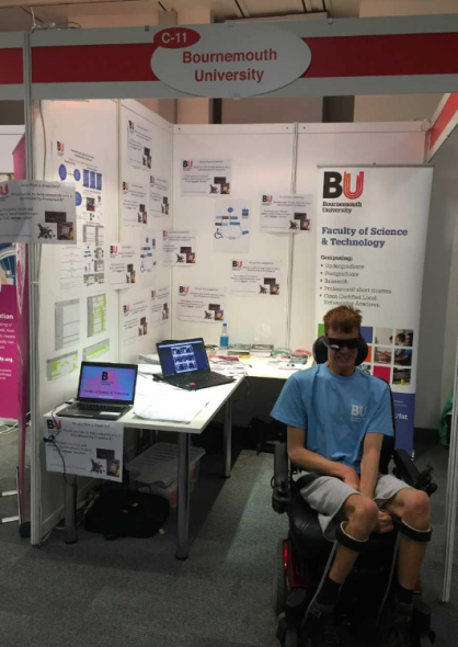 Bournemouth University Stand at 2016 Mobility Roadshow