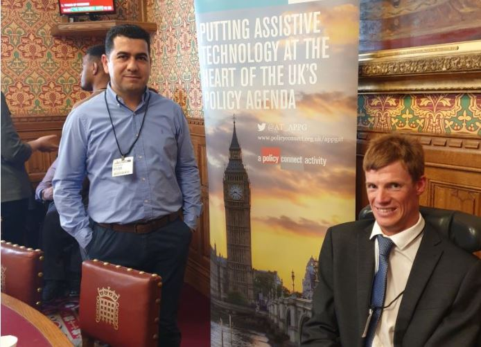 Dr Huseyin Dogan and Dr Paul Whittington attends All-Party Parliamentary Group for Assistive Technology Symposiums Thumbnail